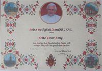 Papsturkunde