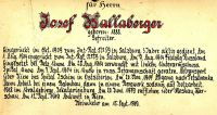 Wallaberger Josef
