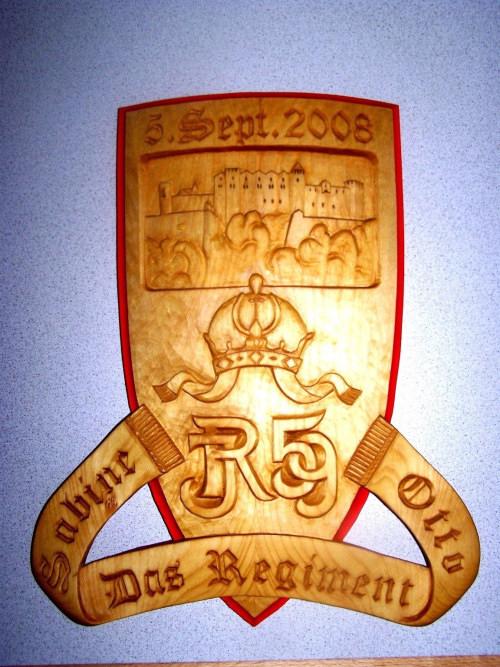 Regimentswappen von Korporal Paul Wieland